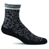 Women's Plantar Cush Crew Plantar Relief Socks-Sockwell-Black-S/M-Uncle Dan's, Rock/Creek, and Gearhead Outfitters