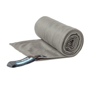 Pocket Towel - Small-Sea to Summit-Grey-Uncle Dan's, Rock/Creek, and Gearhead Outfitters