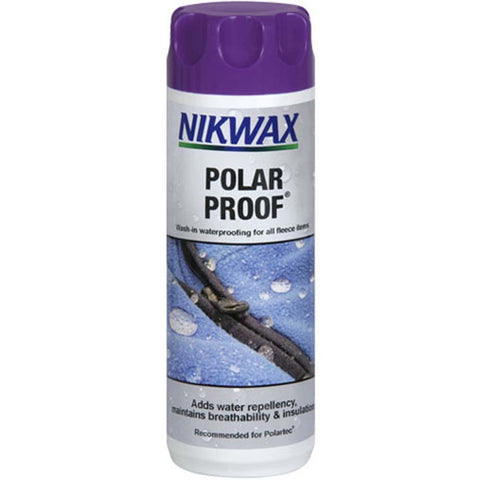 Polar Proof: Waterproofing for Fleece 10oz-NikWax-Uncle Dan's, Rock/Creek, and Gearhead Outfitters