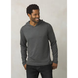 Men's prAna Hoodie-prAna-Charcoal Heather-L-Uncle Dan's, Rock/Creek, and Gearhead Outfitters