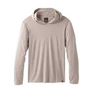 Men's prAna Hoodie-prAna-Dark Khaki Heather-L-Uncle Dan's, Rock/Creek, and Gearhead Outfitters