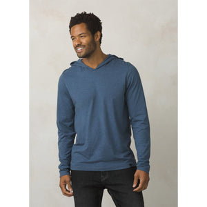 Men's prAna Hoodie-prAna-Denim Heather-L-Uncle Dan's, Rock/Creek, and Gearhead Outfitters