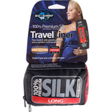 Premium Silk Travel Liner - Mummy with Hood-Sea to Summit-Pacific Blue-Uncle Dan's, Rock/Creek, and Gearhead Outfitters