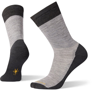 Men's Pressure-Free Nomad Crew Socks-Smartwool-Light Gray-M-Uncle Dan's, Rock/Creek, and Gearhead Outfitters