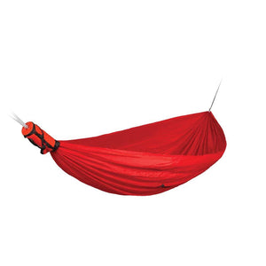 Pro Hammock-Double-Sea to Summit-Red-Uncle Dan's, Rock/Creek, and Gearhead Outfitters