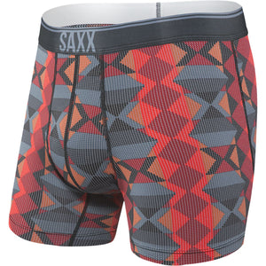 Men's Quest 2.0 Boxer Brief-Saxx-Blue Dot Navajo-S-Uncle Dan's, Rock/Creek, and Gearhead Outfitters