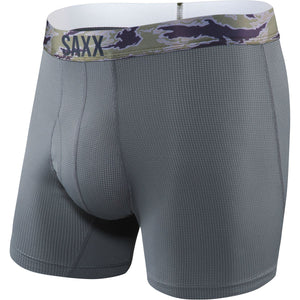 Men's Quest 2.0 Boxer Brief-Saxx-Dark Charcoal-S-Uncle Dan's, Rock/Creek, and Gearhead Outfitters