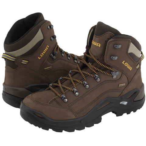 Men's Renegade GTX Mid Hiking Boot-Lowa-Sepia Sepia-8.5-Uncle Dan's, Rock/Creek, and Gearhead Outfitters