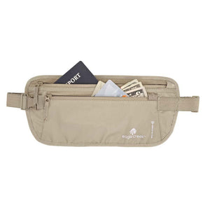 RFID Blocker Money Belt DLX-Eagle Creek-Tan-Uncle Dan's, Rock/Creek, and Gearhead Outfitters