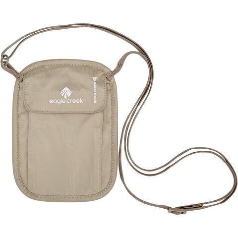 RFID Blocker Neck Wallet-Eagle Creek-Tan-Uncle Dan's, Rock/Creek, and Gearhead Outfitters