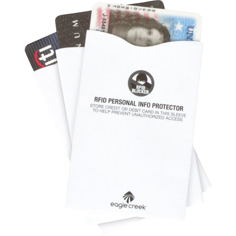 RFID Blocker Sleeves-Eagle Creek-Uncle Dan's, Rock/Creek, and Gearhead Outfitters
