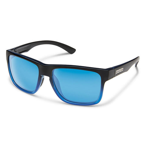 Rambler Sunglasses (Medium Fit)-Suncloud-Black Gray Fade/Polarized Silver Mirror-Uncle Dan's, Rock/Creek, and Gearhead Outfitters
