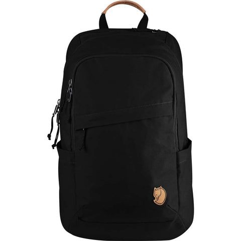 Raven 20 Backpack-Fjallraven-Black-Uncle Dan's, Rock/Creek, and Gearhead Outfitters