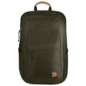 Raven 28L Backpack-Fjallraven-Dark Olive-Uncle Dan's, Rock/Creek, and Gearhead Outfitters