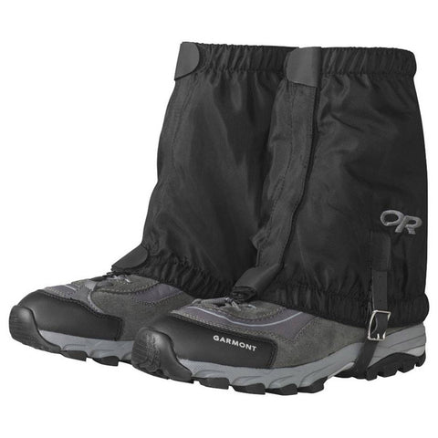 Rocky Mountain Low Gaiters-Outdoor Research-Black-S/M-Uncle Dan's, Rock/Creek, and Gearhead Outfitters