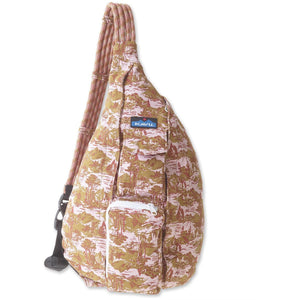 Rope Bag-Kavu-Blush Landscape-Uncle Dan's, Rock/Creek, and Gearhead Outfitters