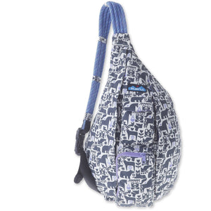 Rope Bag-Kavu-Charcoal Fable-Uncle Dan's, Rock/Creek, and Gearhead Outfitters