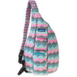 Rope Bag-Kavu-Horizon Dots-Uncle Dan's, Rock/Creek, and Gearhead Outfitters