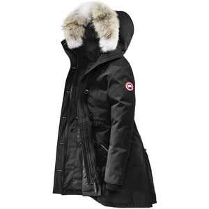 Women's Rossclair Parka-Canada Goose-Black-L-Uncle Dan's, Rock/Creek, and Gearhead Outfitters