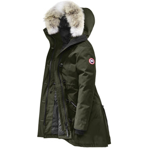 Women's Rossclair Parka-Canada Goose-Military Green-L-Uncle Dan's, Rock/Creek, and Gearhead Outfitters