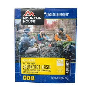 Spicy Southwest Breakfast Hash-Mountain House-Uncle Dan's, Rock/Creek, and Gearhead Outfitters