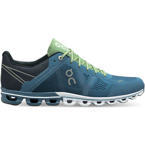 Men's Cloudflow-On Running-Lake | Fern-9.5-Uncle Dan's, Rock/Creek, and Gearhead Outfitters