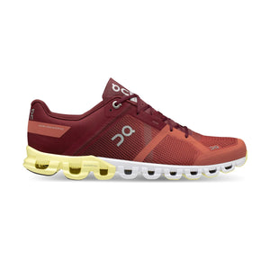 Men's Cloudflow-On Running-Rust | Limelight-10-Uncle Dan's, Rock/Creek, and Gearhead Outfitters