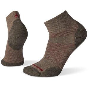 Men's PhD Outdoor Light Mini Hiking Socks-Smartwool-Fossil-L-Uncle Dan's, Rock/Creek, and Gearhead Outfitters