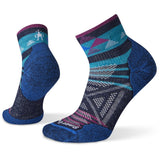 Women's PhD Outdoor Light Pattern Mini Hiking Socks-Smartwool-Deep-Navy-S-Uncle Dan's, Rock/Creek, and Gearhead Outfitters