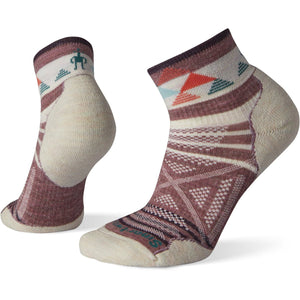 Women's PhD Outdoor Light Pattern Mini Hiking Socks-Smartwool-Nostalgia Rose-S-Uncle Dan's, Rock/Creek, and Gearhead Outfitters