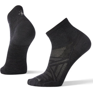 Men's PhD Outdoor Ultra Light Mini Hiking Socks-Smartwool-Charcoal-M-Uncle Dan's, Rock/Creek, and Gearhead Outfitters