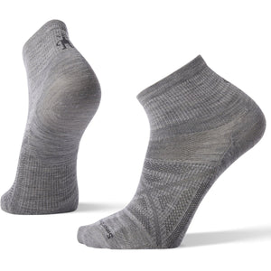 Men's PhD Outdoor Ultra Light Mini Hiking Socks-Smartwool-Light Gray-L-Uncle Dan's, Rock/Creek, and Gearhead Outfitters