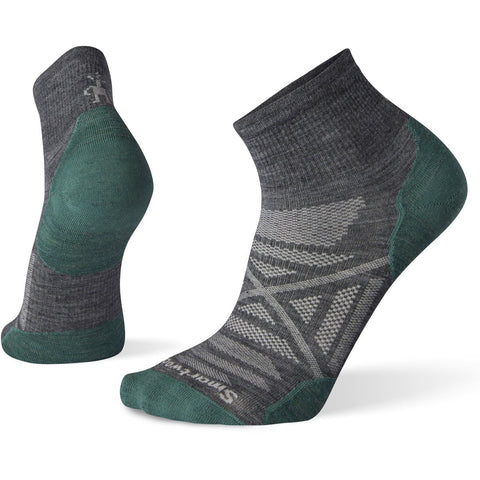 Men's PhD Outdoor Ultra Light Mini Hiking Socks-Smartwool-Medium Gray-M-Uncle Dan's, Rock/Creek, and Gearhead Outfitters