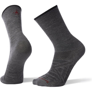 Men's PhD Outdoor Ultra Light Crew Hiking Socks-Smartwool-Medium Gray-L-Uncle Dan's, Rock/Creek, and Gearhead Outfitters