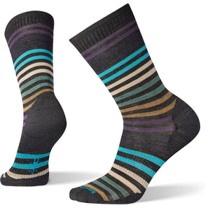 Men's Spruce Street Crew Socks-Smartwool-Charcoal-L-Uncle Dan's, Rock/Creek, and Gearhead Outfitters