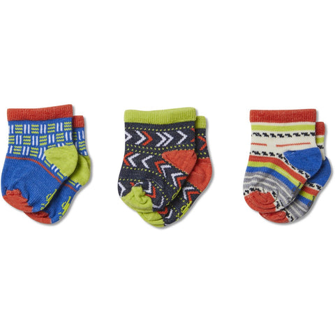 Baby Bootie Batch Socks Trio Gift Box - Clearance-Smartwool-Black-12M-Uncle Dan's, Rock/Creek, and Gearhead Outfitters