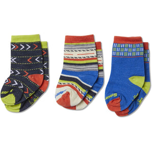 Toddler Socks Trio Gift Box-Smartwool-Bright Blue-24M-Uncle Dan's, Rock/Creek, and Gearhead Outfitters