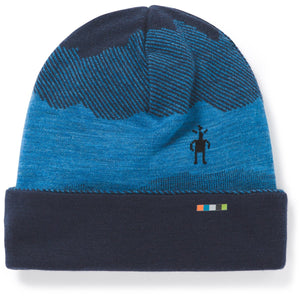 kids-merino-250-reversible-pattern-cuffed-beanie-sw018019_deep_navy_mountain_scape