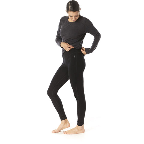 Women's Merino 250 Base Layer Bottom-Smartwool-Black-S-Uncle Dan's, Rock/Creek, and Gearhead Outfitters