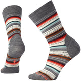 Women's Margarita Socks-Smartwool-Medium Grey Heather Bright Coral-L-Uncle Dan's, Rock/Creek, and Gearhead Outfitters