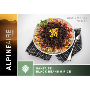 Santa Fe Black Beans & Rice-AlpineAire-Uncle Dan's, Rock/Creek, and Gearhead Outfitters