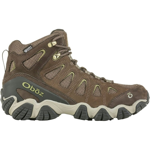 Men's Sawtooth II Mid Waterproof Hiking Boot-Oboz-Canteen Mayfly Green-8-Uncle Dan's, Rock/Creek, and Gearhead Outfitters