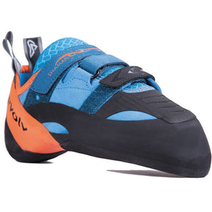 Men's Shaman Climbing Shoe-Evolv-Blue/Orange-10-Uncle Dan's, Rock/Creek, and Gearhead Outfitters