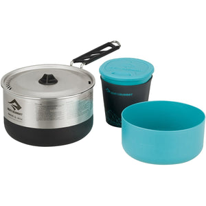 Sigma Cook Set 1.1 - 1.2L Pot, 1 Bowl, 1 Cups-Sea to Summit-Silver-Uncle Dan's, Rock/Creek, and Gearhead Outfitters