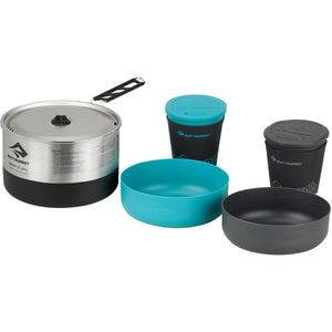 Sigma Cook Set 2.1 - 1.9L Pot, 2 Bowls, 2 Cups-Sea to Summit-Silver-Uncle Dan's, Rock/Creek, and Gearhead Outfitters