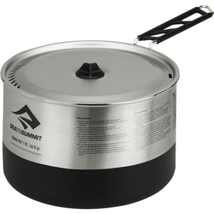 Sigma Pot 1.9 L-Sea to Summit-Silver-Uncle Dan's, Rock/Creek, and Gearhead Outfitters