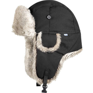 Singi Heater Trapper Hat-Fjallraven-Dark Grey-L-Uncle Dan's, Rock/Creek, and Gearhead Outfitters