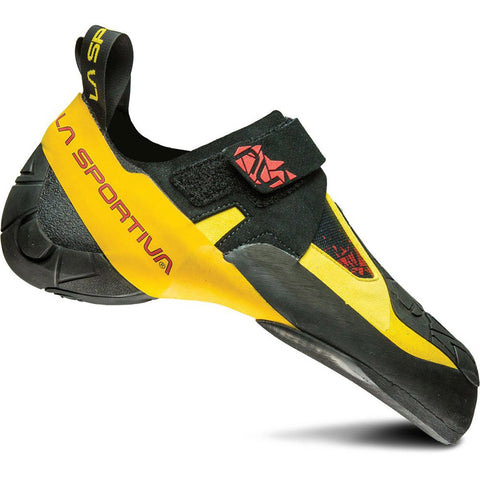 Skwama Climbing Shoe-La Sportiva-Black/Yellow-37-Uncle Dan's, Rock/Creek, and Gearhead Outfitters