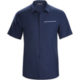 Men's Skyline Short Sleeve Shirt-Arc'teryx-Cobalt Moon-S-Uncle Dan's, Rock/Creek, and Gearhead Outfitters
