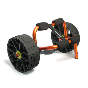 Small Cart with Solid Wheels for Kayaks-Sea to Summit-Orange-Uncle Dan's, Rock/Creek, and Gearhead Outfitters